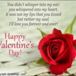 Happy Valentines Card Messages Pinterest