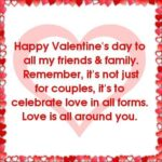 Happy Valentines Day Quotes For Friends And Family Pinterest