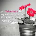 Happy Valentines Sister Quotes Tumblr