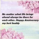 Happy Wedding Anniversary To My Friend Pinterest