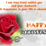 Happy Wedding Anniversary To My Sister