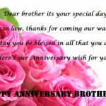 Happy Wedding Anniversary Wishes For Brother Tumblr