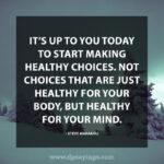 Healthy Choices Quotes Facebook
