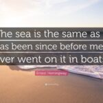 Hemingway Quotes About The Sea Facebook