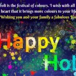 Holi Wishes Facebook