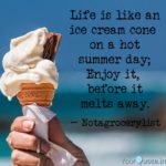 Ice Cream Summer Quotes