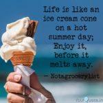 Ice Cream Summer Quotes
