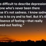 Inspirational Quotes For Depression Sufferers Tumblr