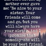Inspirational Quotes For Sisters Tumblr