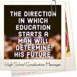 Junior High School Graduation Messages