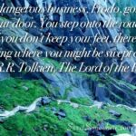 Lord Of The Rings Adventure Quote Pinterest