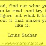 Louis Sachar Quotes Twitter
