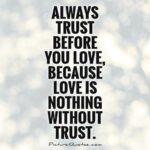 Love Trust Quotes Facebook