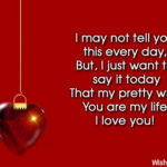 Love U Message For Wife