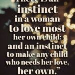 Loving A Woman With A Child Quotes