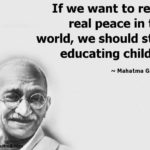 Mahatma Gandhi Quotes For Students Pinterest