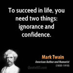 Mark Twain Success Pinterest