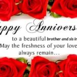 Marriage Anniversary Wishes To Brother And Sister In Law Tumblr