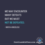 Maya Angelou Defeat Facebook