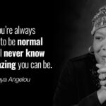 Maya Angelou Inspirational Quotes Twitter