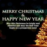 Merry Christmas And Happy New Year Quotes Facebook