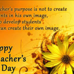 Message For Your Teacher On Teachers Day