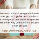 Mom Dad Anniversary Caption Twitter