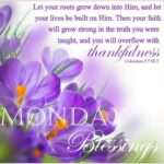 Monday Blessings Images And Quotes
