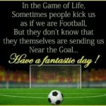 Morning Football Quotes