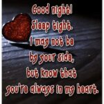 Most Romantic Good Night Message For Her