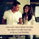 Mr And Mrs Smith Quotes