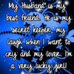 My Hubby Is My Best Friend Quotes