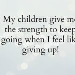 My Kids Is My Strength Pinterest