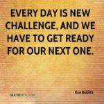 New Challenge Quotes