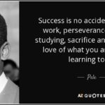 Pele Success Quote