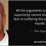 Peter Singer Speciesism Quotes