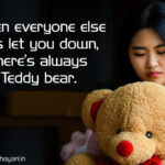 Photo Caption With Teddy