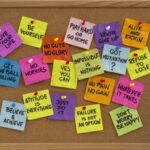Positive Post It Note Quotes Pinterest