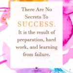 Preparation Success Quotes Facebook