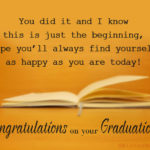Proud Graduation Quotes Pinterest