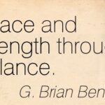 Quotes About Balance And Strength