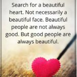 Quotes About Beauty Of Heart Tumblr