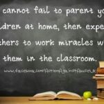 Quotes About Parents And Teachers Working Together