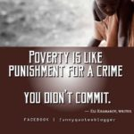 Quotes About Poverty And Success
