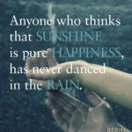 Quotes About Rain And Happiness Pinterest