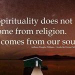 Quotes About Spirituality And Religion