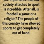 Quotes About The Importance Of Sports