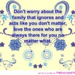 Quotes Nasty Family Members