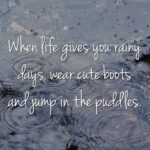 Rainy Tuesday Quotes Pinterest