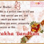 Raksha Bandhan Blessings For Brother Pinterest